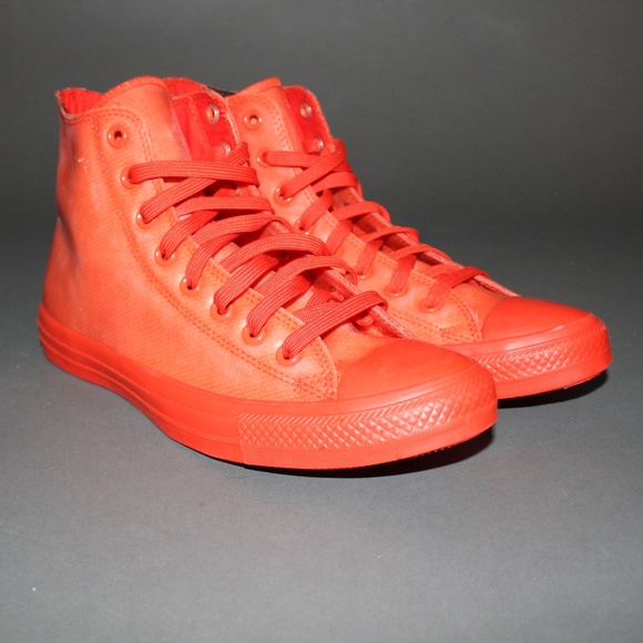 1b8356c0eb6ea8 Converse Other - Red rubber converse water proof